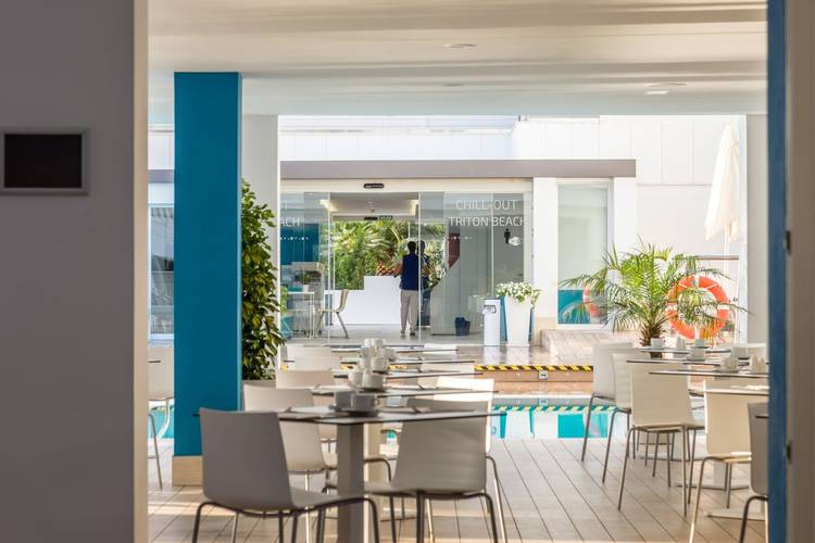 Restaurante hotel triton beach - adults only cala ratjada